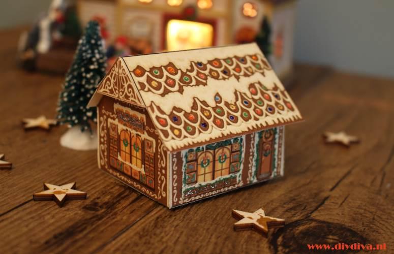 Makkelijke kersthuisjes zelf maken