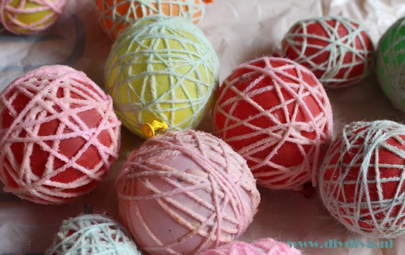 Paaseieren van draad voor decoratie of tractatie de diy diva for Decoratie chocolade