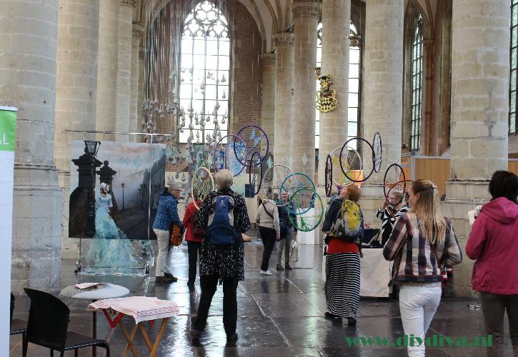 Textielfestival 2015 Leiden Pieterskerk diydiva