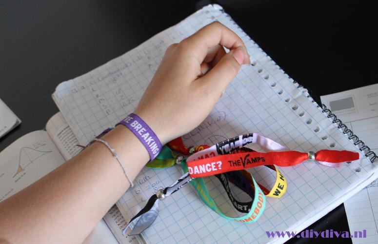 hippe armband lintje maken diydiva