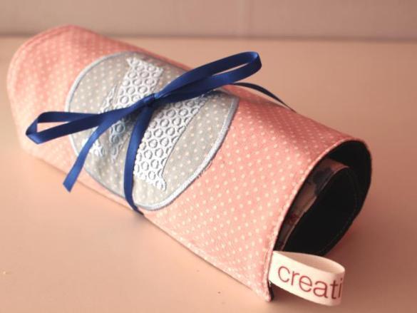 Make-up tasje naaien voor de vakantie