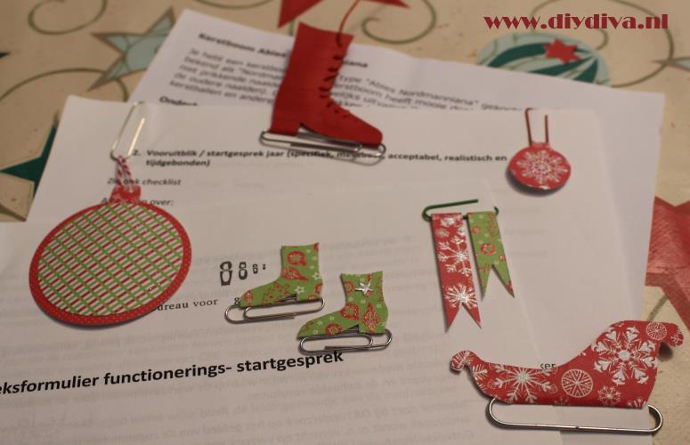 Kerstknutsels met paperclips voor kinderen de diy diva - Versieren kantoor ...