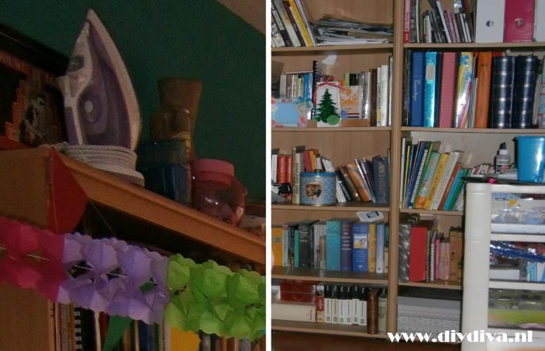 oude boekenkast diydiva