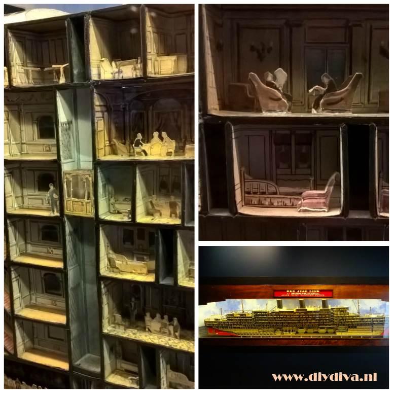 Belgenland redstarline Antwerpen miniatuur diydiva