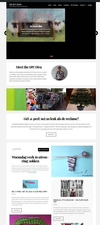 nieuwe bloglayout diydiva