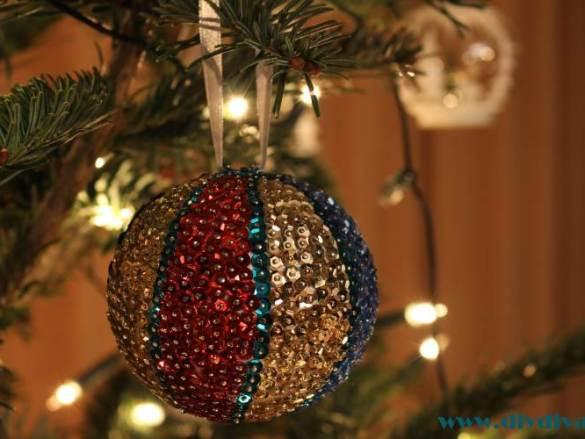 Nog meer diy kerstballen!