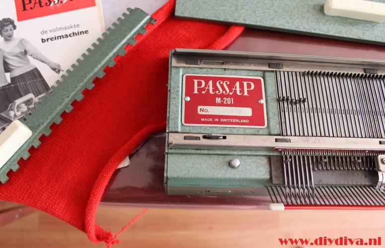 Passap M-201 breimachine diydiva