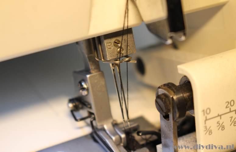 lockmachine naalden vervangen diydiva