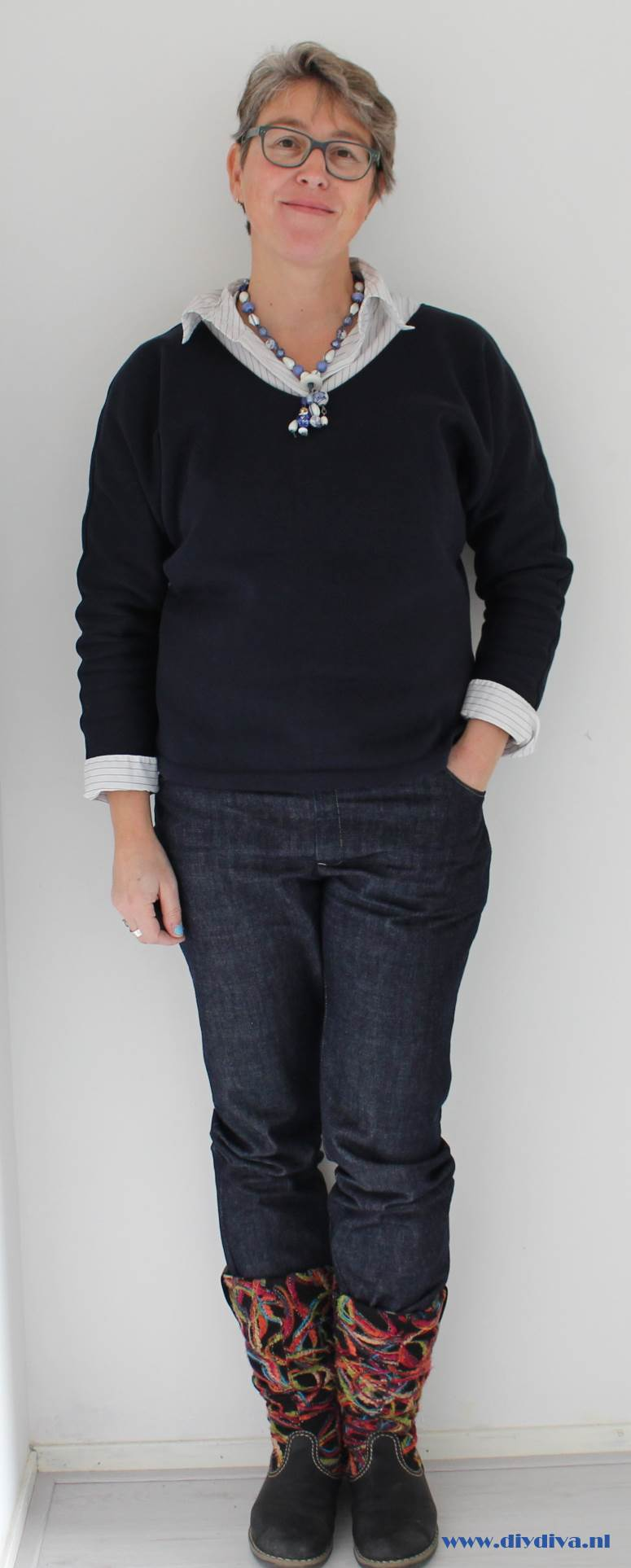 zelfgemaakte spijkerbroek diydiva
