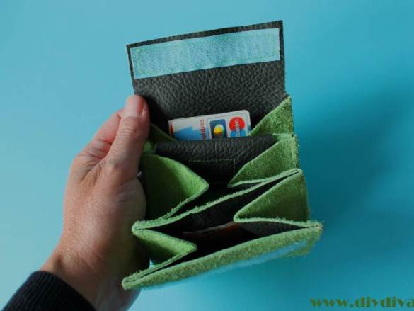 Groene portemonnee