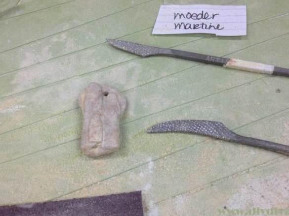 Op pad: workshop beeldhouwen