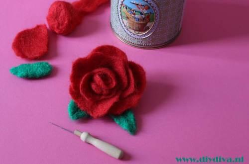 roos vilten diydiva naaldvilten