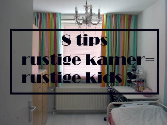 Tips voor een rustige kamer voor drukke kinderen
