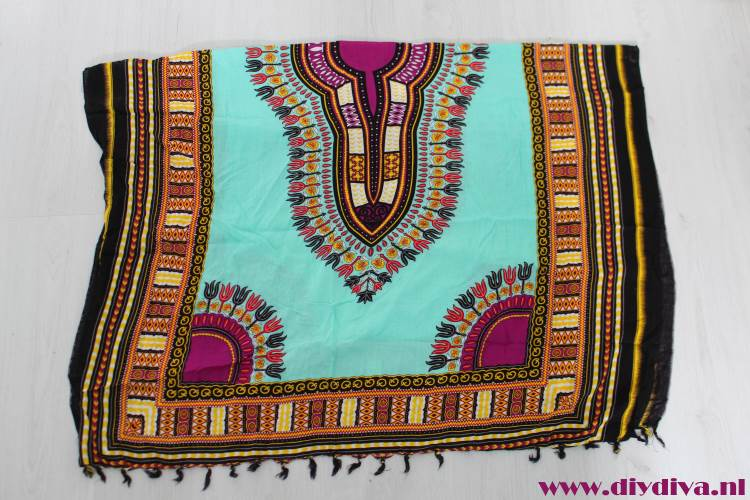 Zuid-Afrika stof tuniek jurk diydiva