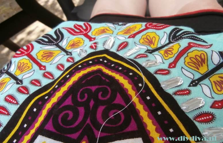 Afrikaanse tuniek versieren diydiva
