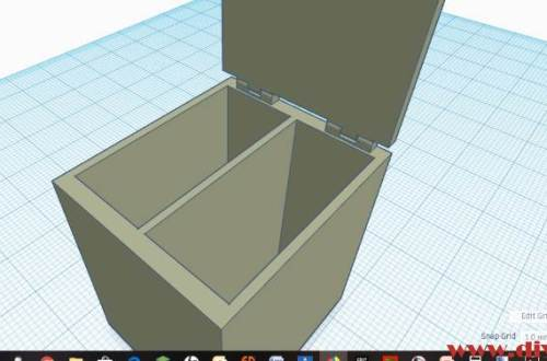 Tinkercad nachtkastje poppenhuis 3d print diydiva