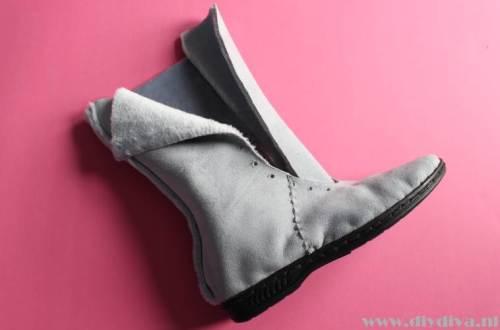 zelf laarzen maken diydiva