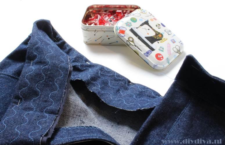 broekband spijkerbroek