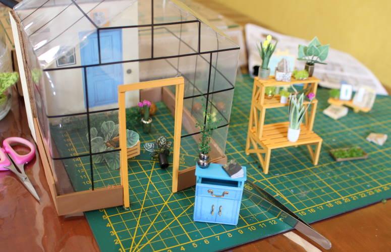 miniatuur kas cathyʻs house diydiva