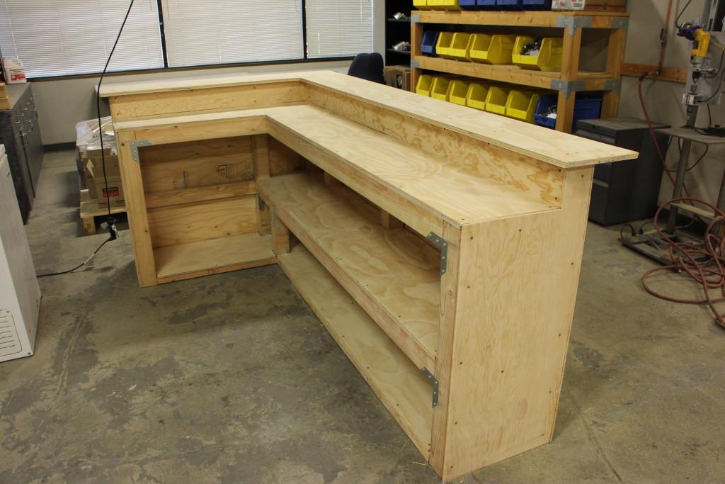 Portable Home Bar Cabinet