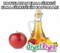 zayıflatan elma sirkesi