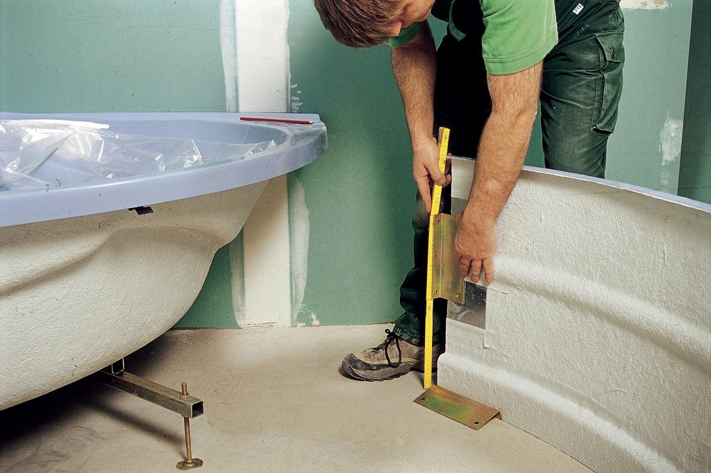 installer une baignoire d angle avec un