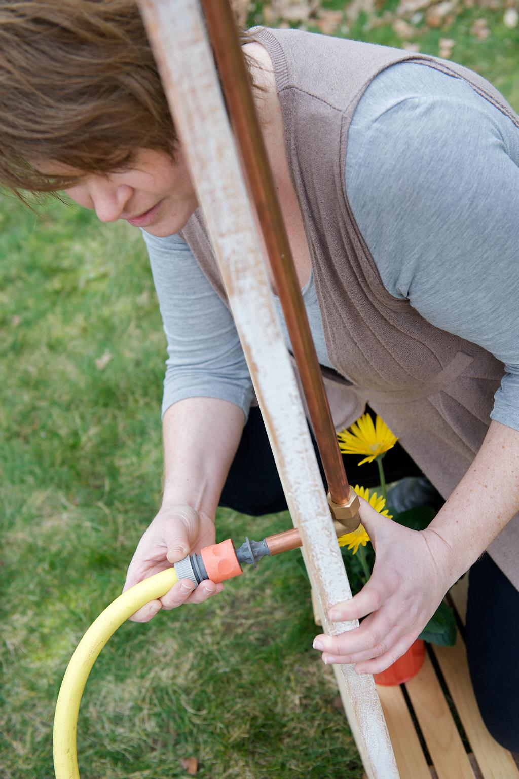 Fabriquer Une Douche De Jardin DIY Family