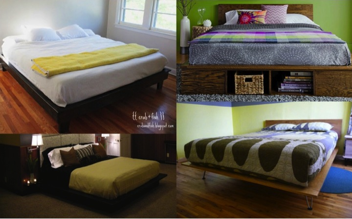 DIY Platform Bed Tutorials