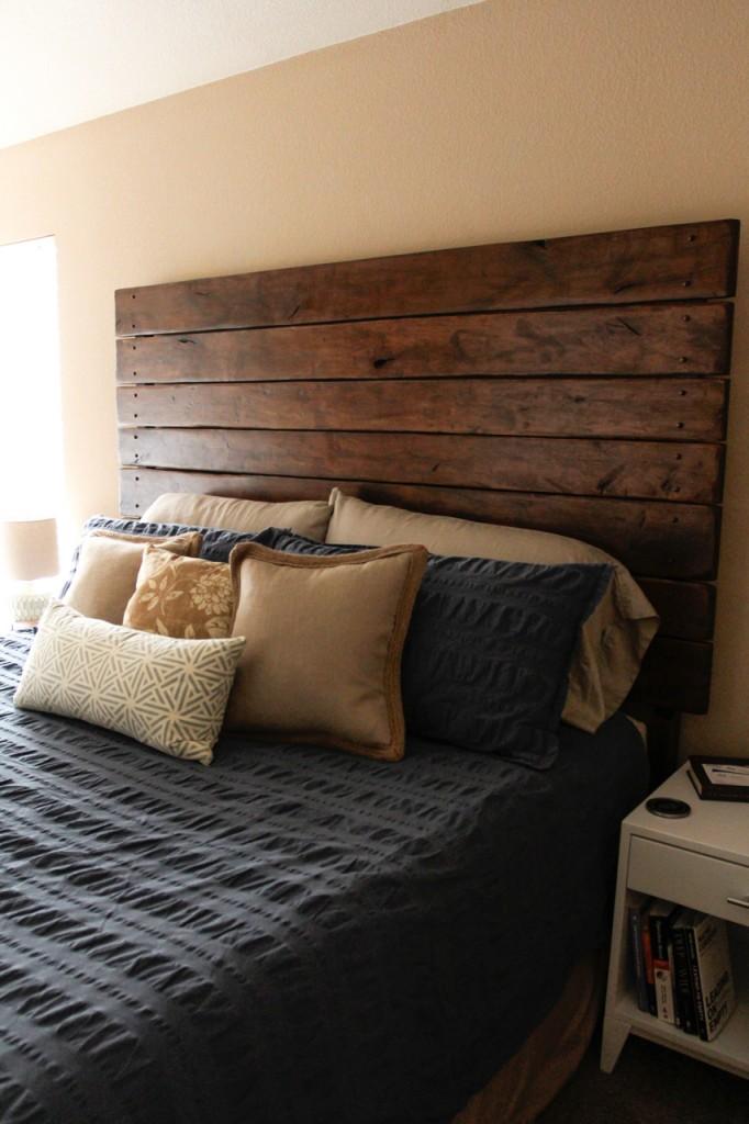 DIY Drop Cloth Upholstered Headboard Amp Save 1500 Do It