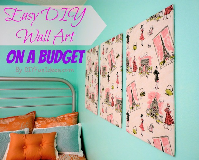 Image Of Diy Wall Art Ideas