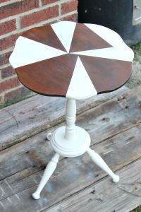 Geometric Painted Table