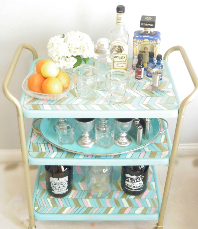Party-Ready Bar Cart by Addison Meadows Lane blog