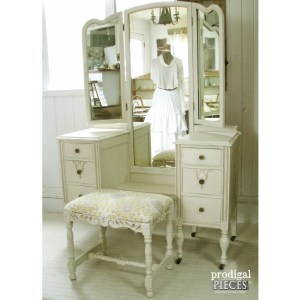 Gilded Antique Vanity