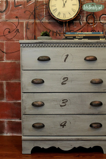 Free to fabulous dresser makeover - By Art is Beauty