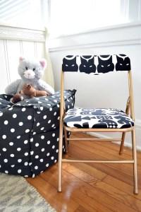 Modern Glam Folding Chair