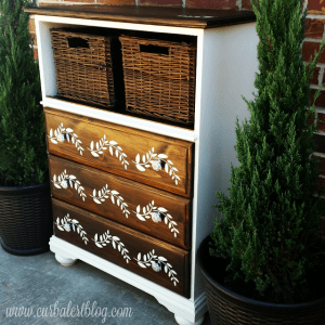 Trash to Treasure Dresser