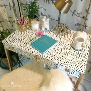 Kate Spade Inspired Desk Makeover