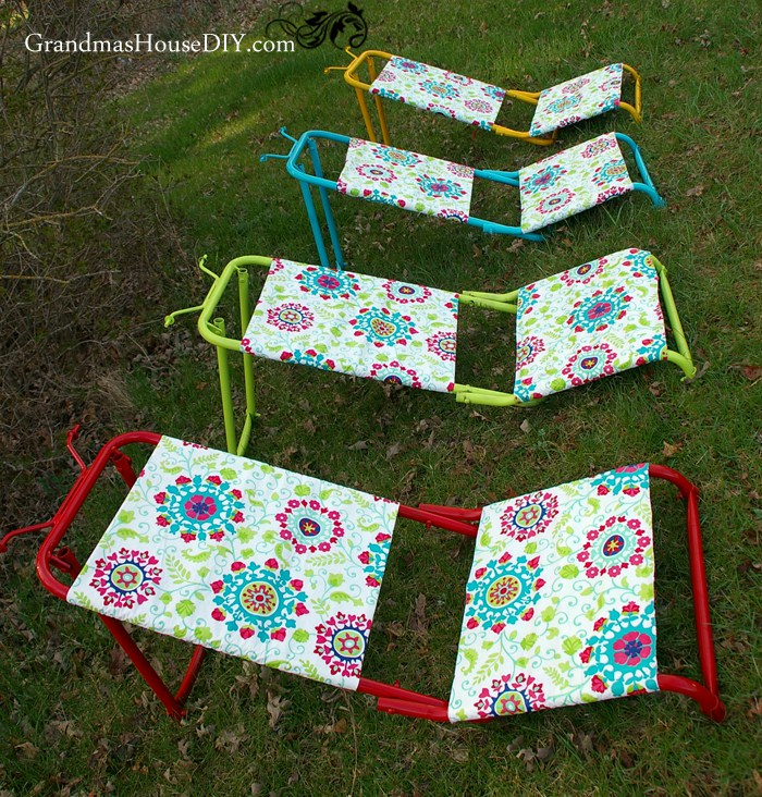 Hunting Chairs to DIY Sun Loungers - by Grandma's House DIY