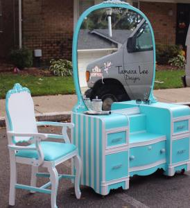 Tiffany Vanity Makeover