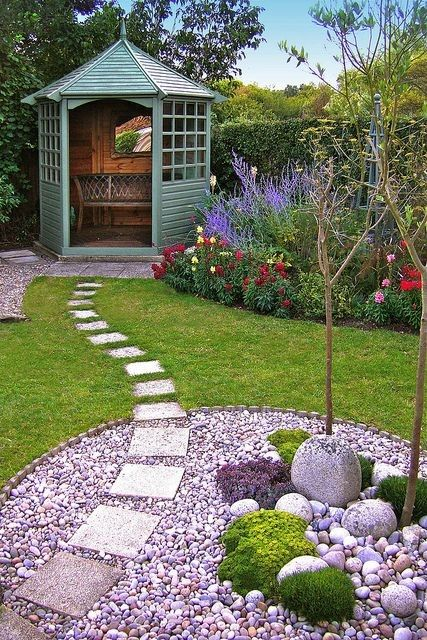 Small Garden Ideas To Transform Your Garden Into A ... on Landscape Garden Designs For Small Gardens id=57457