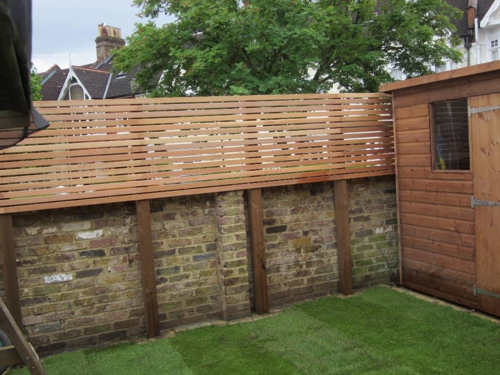 10 Garden Screening Ideas To Make Your Garden A Private ... on Garden Patio Wall Ideas id=79022