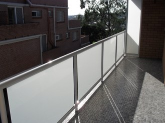 Acid-etched-framed-glass-balustrade