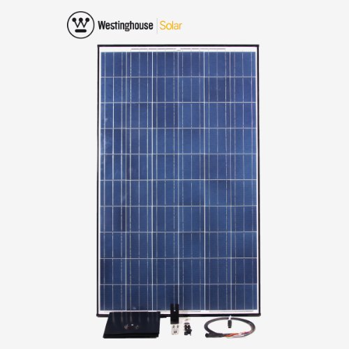 1 Pack AC 235 Watt Solar Panel Complete Installation Kit