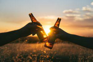 bottles clinking