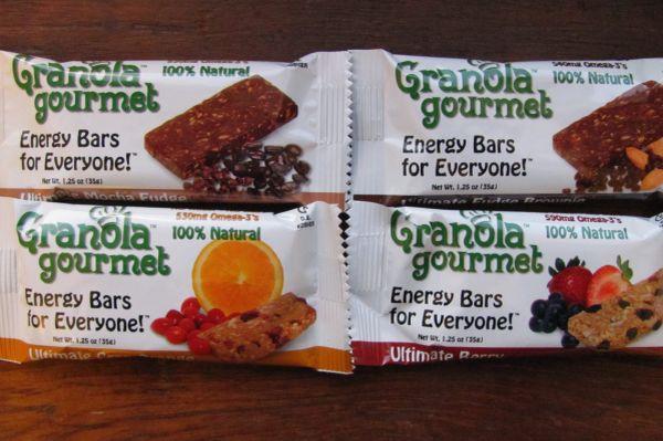 Granola Gourmet Energy Bars