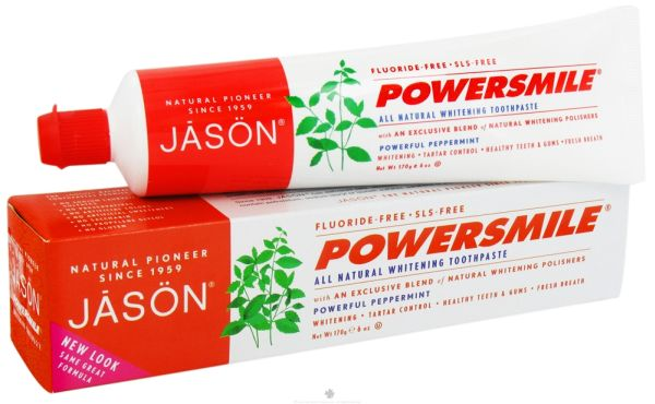 Jason peppermint toothpaste