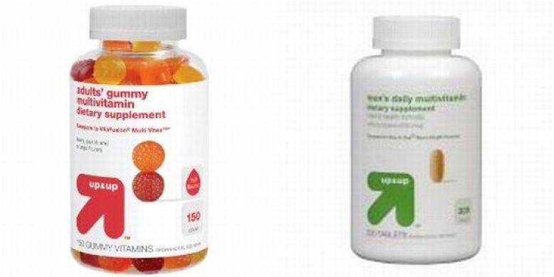 Target Up&Up Men's Daily Multivitamin