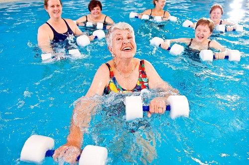 exciting water aerobics for elderly people diy health do it yourself health guide by dr prem