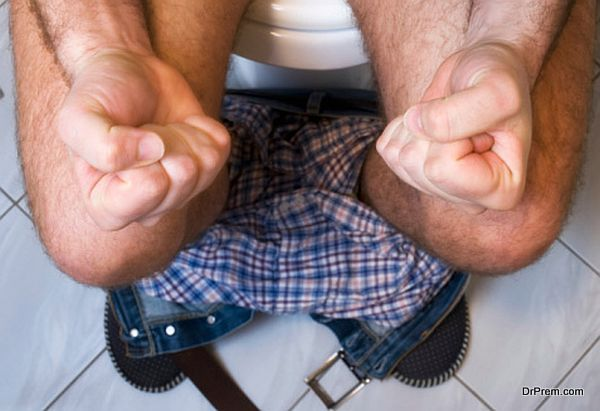 The metaphor of gastrointestinal problems like constipation or diarrhea