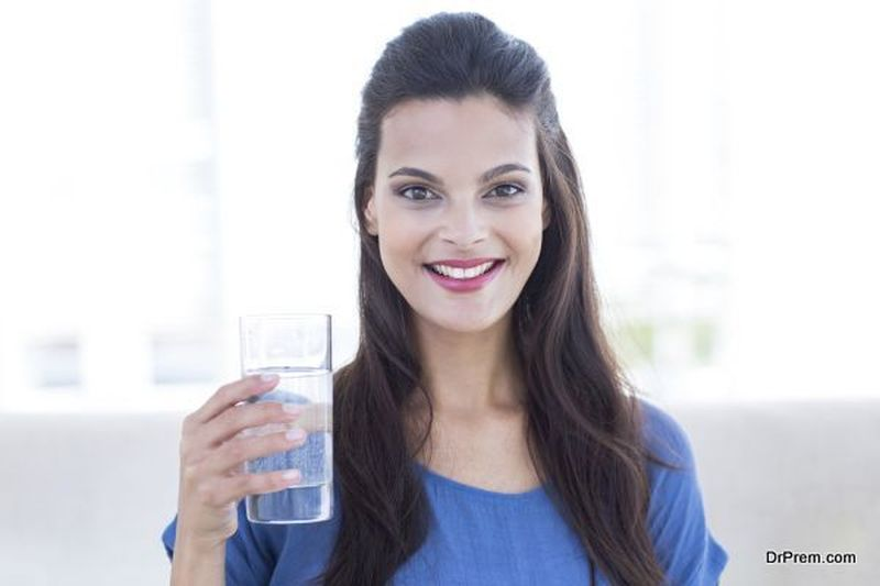 Drink plenty of water, avoid caffeine